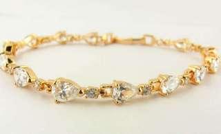 Gems 14k Rose Gold FilledBracelet Chain 19.5cm(7.67)