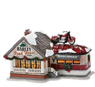 Dept 56 Snow Village Harley Davidson Road House Cafe 2012