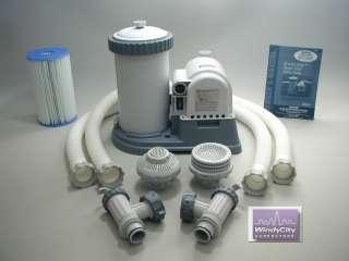 Intex Easy Set Swimming Pool 2500 GPH Timer Filter Pump
