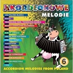 Akordeonowe Melodie #6   Wspomnienie lata vol.2 [Audio CD