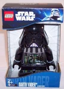 Star Wars Lego Darth Vader Mini Fig Figure Alarm Table Clock 9002113