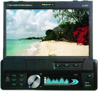 TOUCH SCREEN DVD USB SD AUX iPod iPhone Car Player Stereo