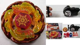 String Launcher RED New SUN GOD 145AS Beyblade Metal Fusion Toy #2019C