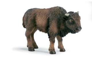 American Bison Calf Baby Schleich toy figure NEW Wild Life Animal