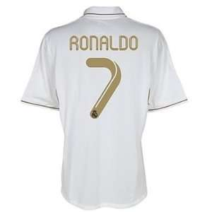 #7 Ronaldo Real Madrid Home Shirt Soccer Jersey 2011/12