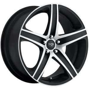 Euro 19x9.5 Black Wheel / Rim 5x4.5 with a 40mm Offset and a 72.60 Hub